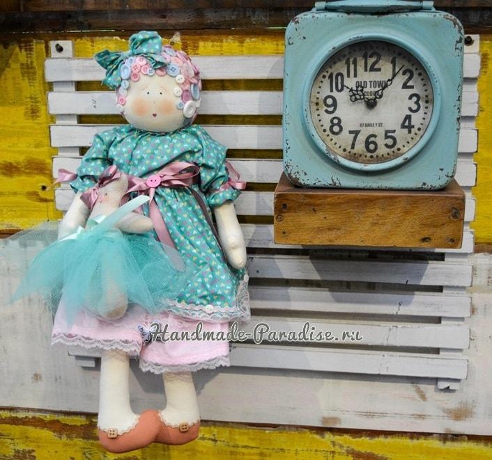 Примитивы. Кукла с мишкой (3)
