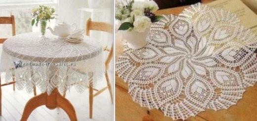 Crochet Lace. Скатерти и салфетки крючком