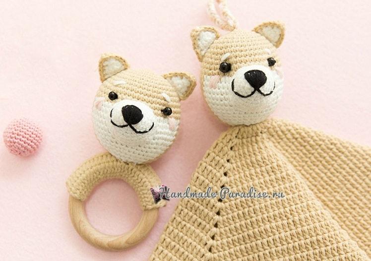 Комфортер с собачкой. Схемы вязания (1)