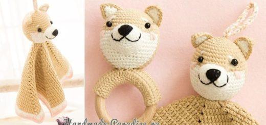 Комфортер с собачкой. Схемы вязания (2)