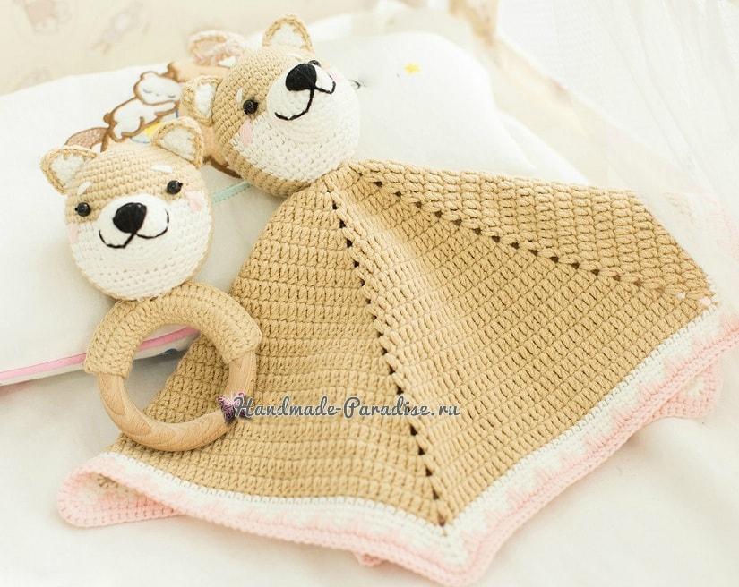 Комфортер с собачкой. Схемы вязания (3)