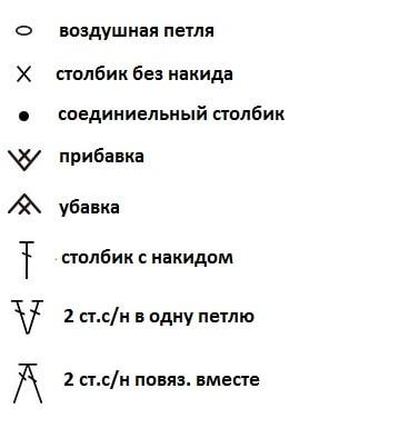 комфортер крючком с описанием и схемами