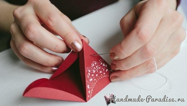 Коробочки-пирамидки для подарка своими руками (1)