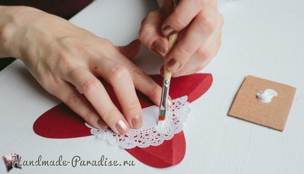 Коробочки-пирамидки для подарка своими руками (3)