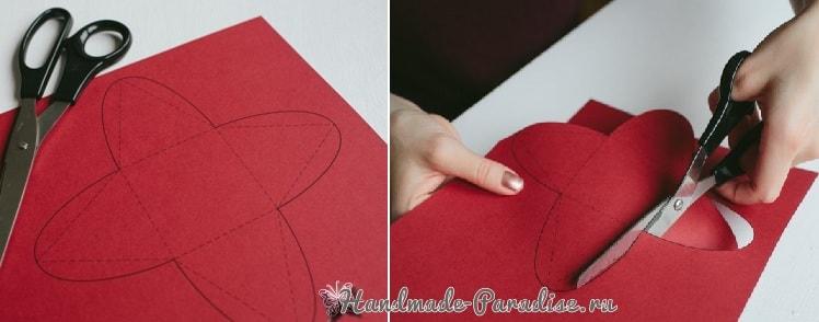 Коробочки-пирамидки для подарка своими руками (4)