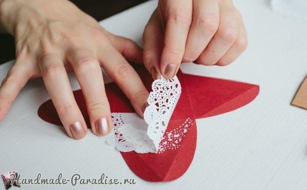Коробочки-пирамидки для подарка своими руками (5)