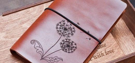 Кожаные блокноты ручной работы
