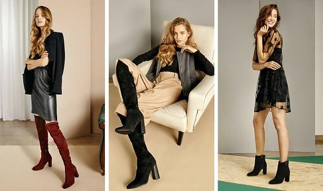 Модная зимняя обувь - сапоги (2)
