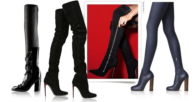 Модная зимняя обувь - сапоги (3)