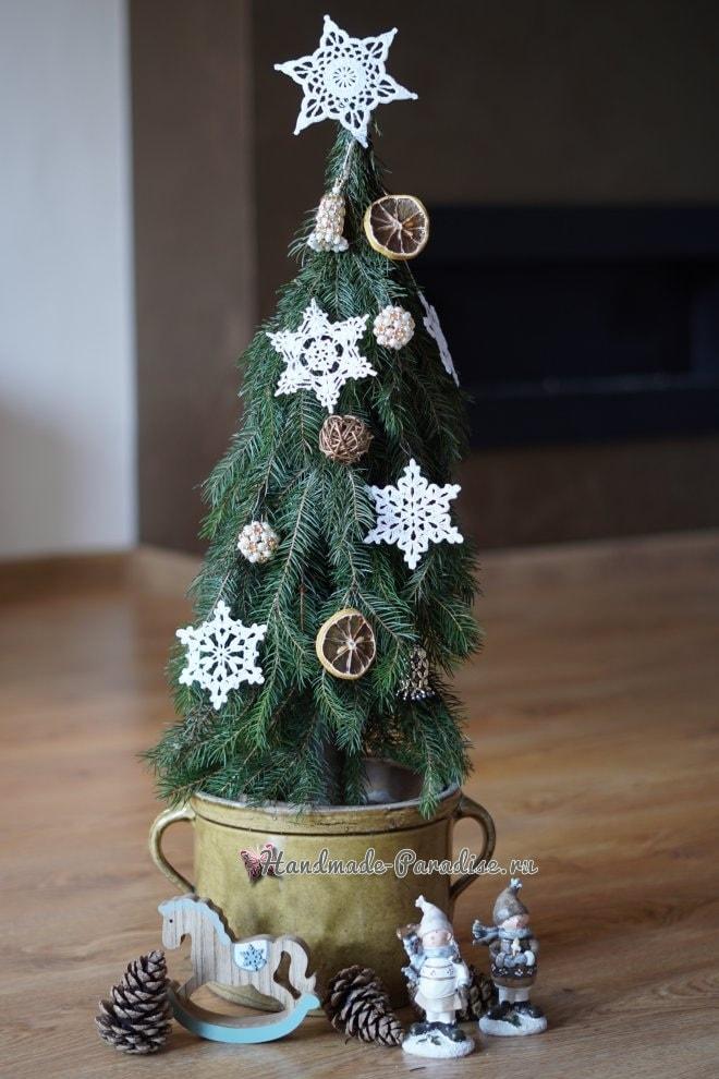Новогодняя елка своими руками из хвойных веток (1)
