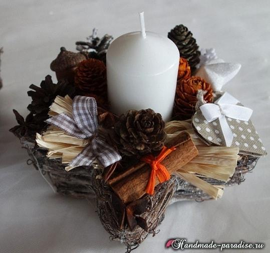 Плетение корзинки из виноградной лозы (1)