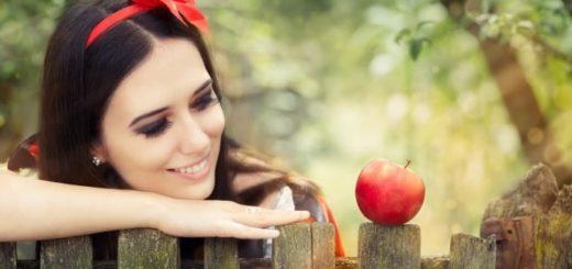 Приворот на красное яблоко