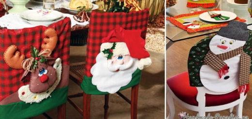 Как украсить стулья к Новому году (1)