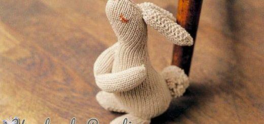 Кролик спицами. Схема вязания (1)