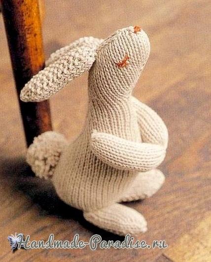 Кролик спицами. Схема вязания (2)