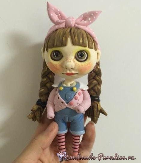 Куколка Блайз своими руками из полимерной глины (6)