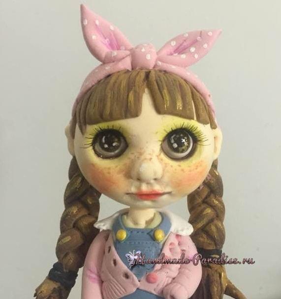Куколка Блайз своими руками из полимерной глины (8)