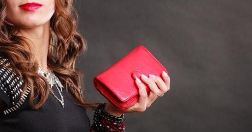 Кожаные женские портмоне и кошельки (2)