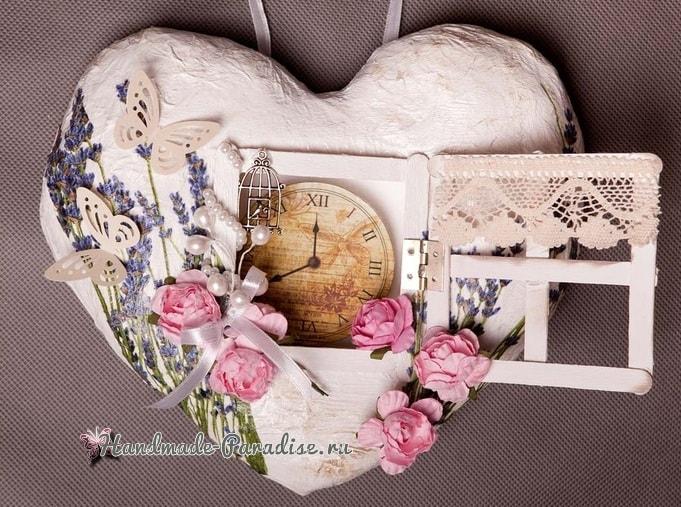 Объемная подвеска-валентинка с окошком (2)