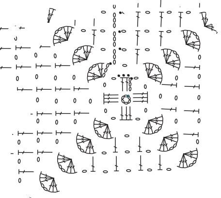 Очень красивая интерьерная подушка крючком (6)