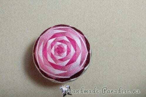 Японские шары темари с розами (2)