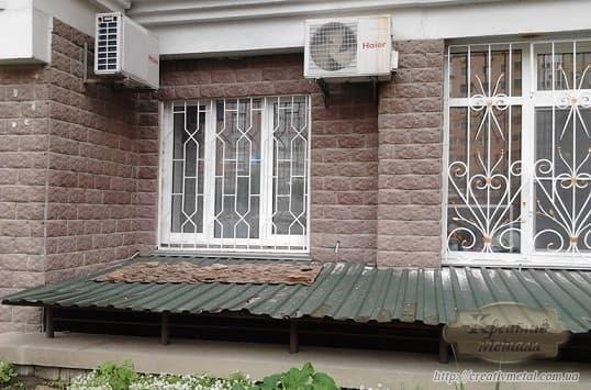 Делаем распашные решетки на окна своими руками (2)