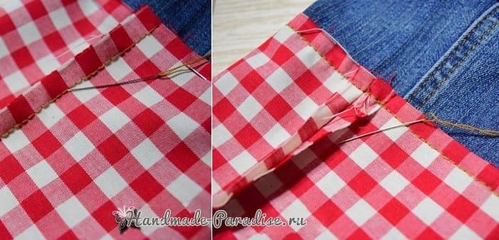 Как сшить подарочный мешочек для вина (3)