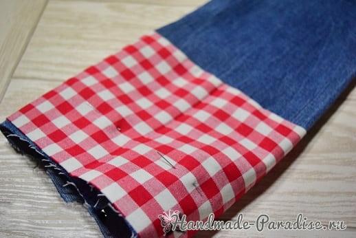 Как сшить подарочный мешочек для вина (4)