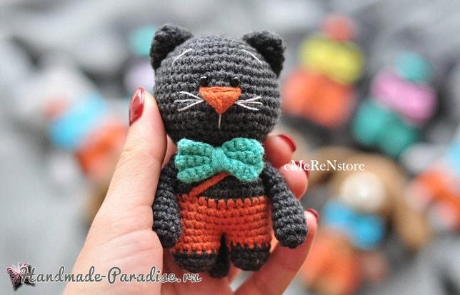Котик амигуруми. Описание вязания (1)