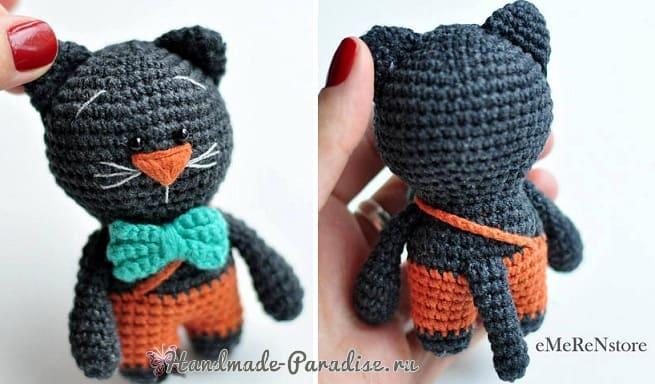 Котик амигуруми. Описание вязания (4)