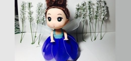 Наряд ФЕИ для куклы своими руками (3)
