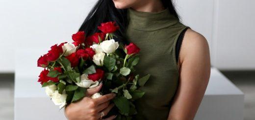 Цветы для романтических отношений и делового характера дарит букет цветов (2)