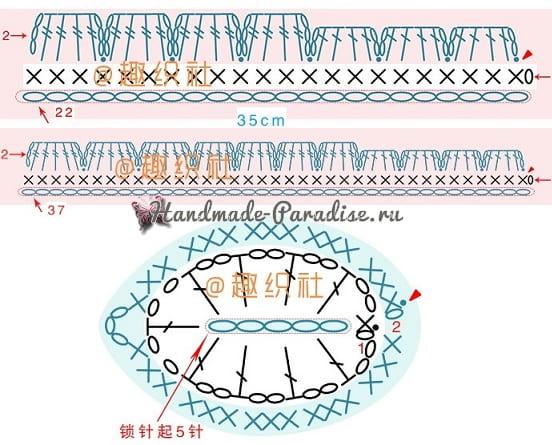 Вязаный чехол для грелки своими руками (8)