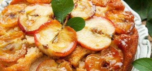 Яблочный пирог «Перевертыш». Рецепт (2)