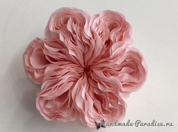 Английская роза Juliet Дэвида Остина из ткани (13)