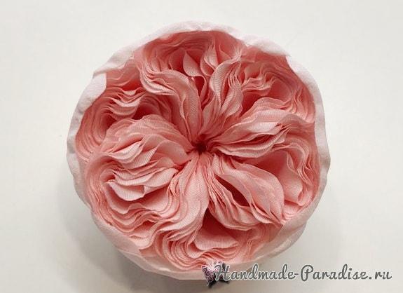 Английская роза Juliet Дэвида Остина из ткани (16)