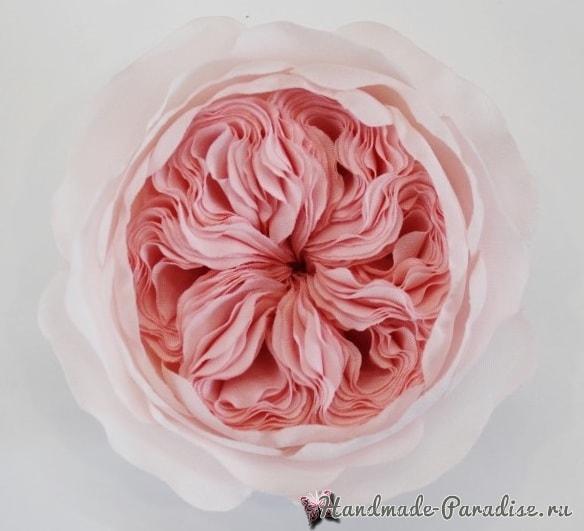 Английская роза Juliet Дэвида Остина из ткани (18)