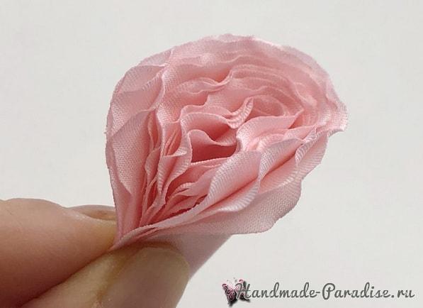 Английская роза Juliet Дэвида Остина из ткани (7)