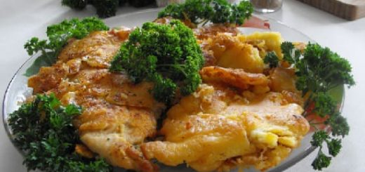 Куриные грудки в кляре с сыром - мечта гурмана (1)