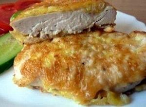 Куриные грудки в кляре с сыром - мечта гурмана (2)