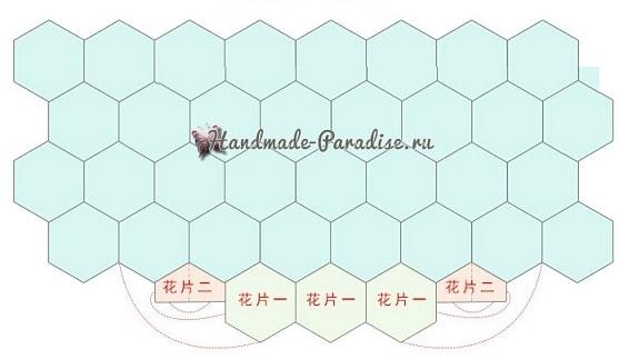 Летняя сумка-мешок крючком в стиле пэчворк (1)
