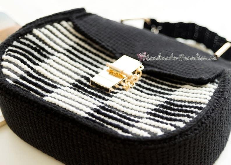 Модная сумка крючком. А-ля Dolce Gabbana (1)