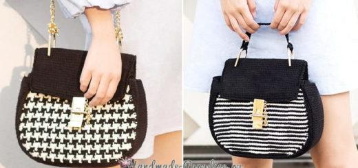 Модная сумка крючком. А-ля Dolce Gabbana (2)