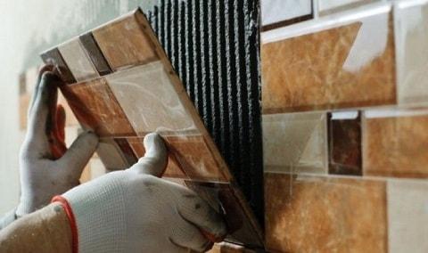 Облицовка стен керамической плиткой своими руками (2)