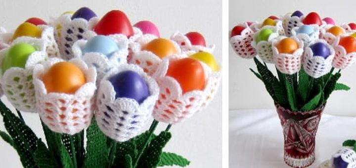 Пасхальные яйца «Тюльпаны» (1)