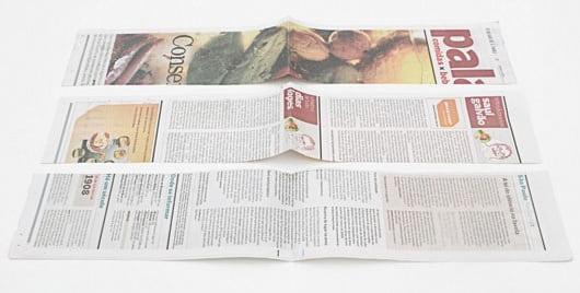 Плетение салфетницы из газетных трубочек (2)