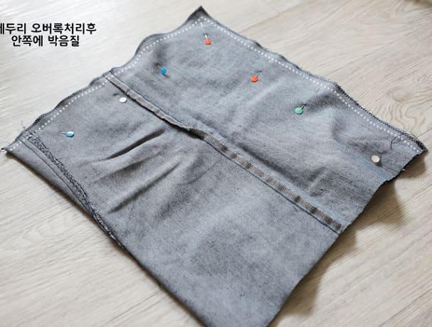 Как сшить сумку из старых джинсов (10)