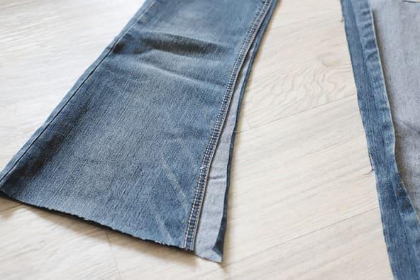 Как сшить сумку из старых джинсов (8)