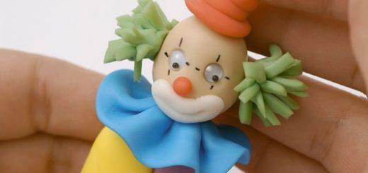 Клоун из полимерной глины. Мастер-класс (2)