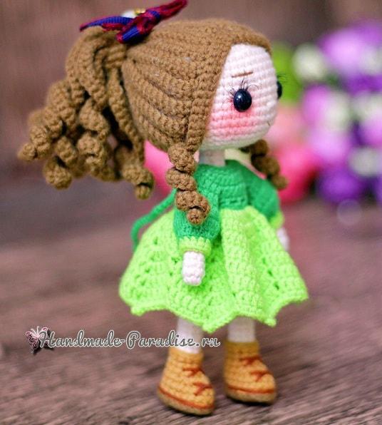 Куколка амигуруми. Описание вязания (1)